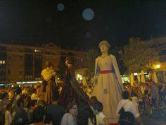 La colla del Bisbalet i Dessota inaugurant les places! #FMIgd