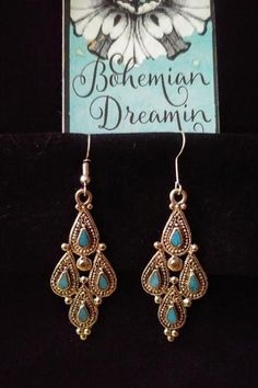 Boho Chic Jewelry for effortless style! It's easy to look your best with our statement making Bohemian Jewelry! it's jewelry you didn't know you needed! Silver Necklaces, Silver Earrings, Silver Ring, Boho Earrings, Earrings Handmade, Belly Dance Jewelry, Cleaning Silver Jewelry, Silver Jewellery Indian, Gold Jewellery