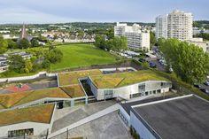 Groupe Scolaire Normandie-Niemen / Gaetan Le Penhuel Architectes - © Sergio Grazia