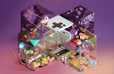 \ Nintendo Origine / on Behance