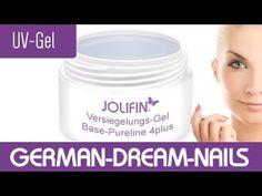 Ideal zum Versiegeln - Versiegelungs-Gel aus der Base-Pureline! Holt es Euch! #jolifin #nails #nailart #fingernägel #naildesign