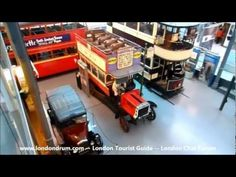 Short video of the London Transport Museum London With Kids, London Transport Museum, London Attractions, London Museums, Vintage London, London Art, Covent Garden, Taxi, Transportation