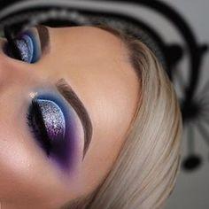 Gorgeous Makeup: Tips and Tricks With Eye Makeup and Eyeshadow – Makeup Design Ideas Makeup Eye Looks, Cute Makeup, Smokey Eye Makeup, Eyeshadow Looks, Eyeshadow Makeup, Hair Makeup, Eyeshadow Ideas, Eyeshadows, Witch Makeup