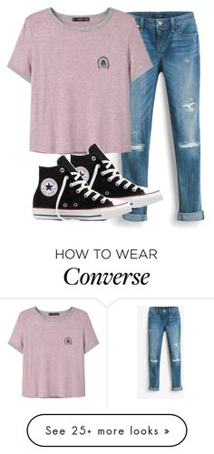 """8:40"" by melw44 on Polyvore featuring White House Black Market, MANGO and Converse"