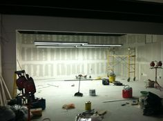 Beginning of the studio
