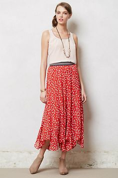 Anthropologie maxi skirt on clearance