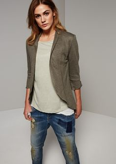 Leinenjacke 88.502.39.1679   Fashion & Mode   comma Online