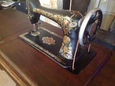 Restoring a vintage singer sewing machine