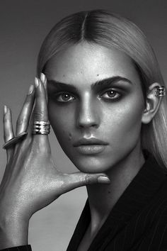 Andrej Pejic launches his new line of jewellery in collaboration with Sam H Snyder.