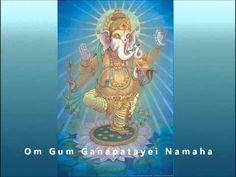 Om Gum Ganapatayei Namaha (108 repetitions) Ganesha mantra