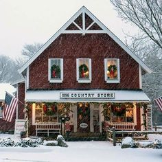Merry CHRISTmas!!! country store in Me