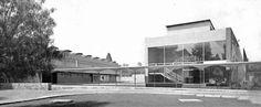 Laboratorios CIBA, Churubusco, DF 1954 Arquitecto: Alejandro Prieto. Colaborador: Arq.  Enrique Manzanares. Colaborado técnico: Félix Candela