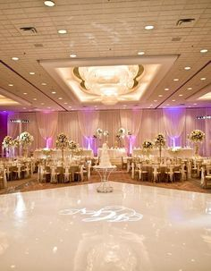 wedding reception dancing floor idea; photo: Yazy Jo Photography
