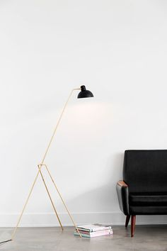 Floor lamp | lighting . Beleuchtung . luminaires | Design: Lambert & Fils |