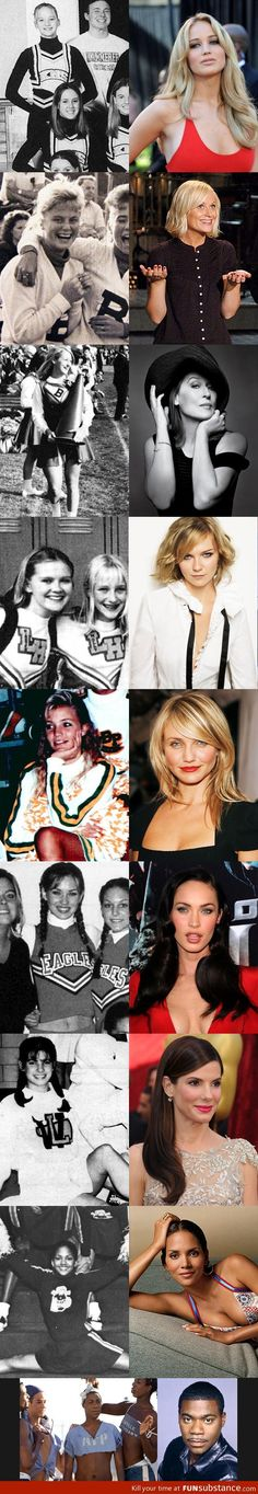 Actors who started out as cheerleaders