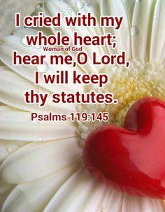 Psalms 119:145