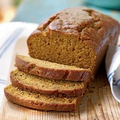 Pumpkin-Honey Beer Quick Bread | CookingLight.com