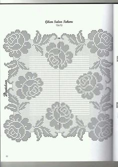 knitting pattern, knitting for beginners, knitting models, knitting models of 2020 Filet Crochet Charts, Crochet Doily Patterns, Crochet Cross, Crochet Diagram, Crochet Art, Crochet Home, Thread Crochet, Crochet Motif, Crochet Designs