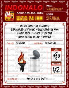 KOP 4D Togel Wap Online Indonalo Surabaya 14 Agustus 2017