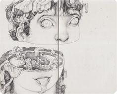 Drawing by Anton Vill: http://anton.vill.eebeinArt Surreal Art Collective: http://beinart.org
