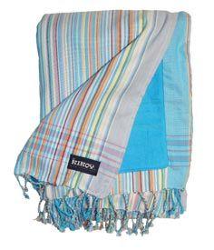 The Kikoy Co. :: Kikoy Beach Towel : Watatu Rainbow