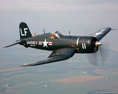 Doug Matthews' Chance Vought F4U-4B Corsair