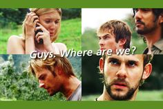 """"""" Shocking Moments of Lost """" As soon as I saw this I knew I would be obsessed forever (also part of the 30 Days of Lost Meme, Day 24 Whatever tickles your fancy) Lost Memes, Lost Quotes, Hurley, Charlie Pace, Lost Tv Show, Josh Holloway, Living Together, In Another Life, Im Lost"""