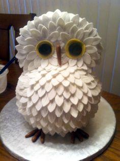 Owl Cake #owl #cake #Central