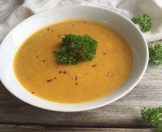 Thaise pompoen curry soep