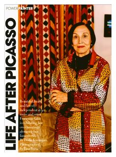 """Life After Picasso: Françoise Gilot """"I'm not going to talk about Picasso. I have had a great career as an artist myself, you know. I'm not here just because I've spent time with Picasso. Pablo Picasso, Art Picasso, Henri Rousseau, Henri Matisse, Francisco Goya, Georges Braque, Marc Chagall, Pierre Auguste Renoir, Paul Gauguin"""