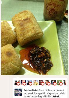 Pesan dan pesan lagi ;)  http://twoqu.com/chili-oil-pak-wok/