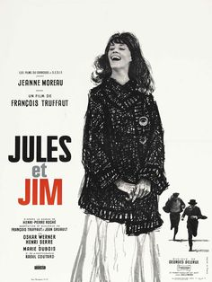 "Movie Poster of the Week: ""Jules et Jim"" and an Interview with Designer Christian Broutin on Notebook 