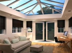 Our range of UPVC Roof Lanterns are ideal for the trade DIYer and Property Developers. Featuring multiple brands of UPVC Roof Lights, there will be an item to suit your need here. As a UPVC Roof Lantern Installer we only offer the highest quality of servi House Extension Plans, House Extension Design, Glass Roof Extension, Rear Extension, Garden Room Extensions, House Extensions, House Front Porch, House Roof, Front Porches