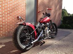 Ben's '55 FL Panhead - 3rd place in the Harley Bobber category of this year's C3BC - congrats!