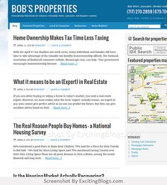 Bobs Properties  Pennsylvania Real Estate for Lebanon, Schuylkill, Berks, Lancaster, and Dauphin counties - Click to visit blog:  http://1.33x.us/HznPHW
