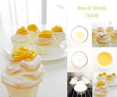 Loading... Craving for Brazo de Mercedes? Your favorite classic Brazo de Mercedes is now in cupcakes. You just gotta try these. Too easy to make. Happy baking! Ingredients: for the Meringue 5 egg whites 1/2 teaspoon cream of tartar 1/3 cup granulated sugar 2 tbsp icing sugar drops of vanilla extract (optional) for the Custard… Continue reading How to make Brazo de Mercedes Cupcake