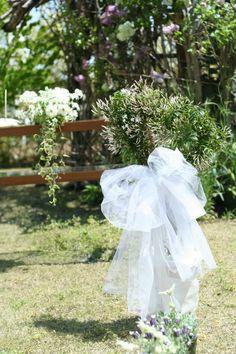 5月 ガーデンウエディング アスタナガーデン様へ : 一会 ウエディングの花
