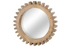 Home Accents Gear Shaped Mirror <3
