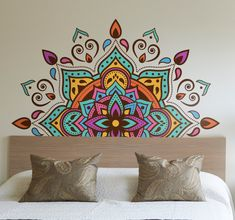 Mandala Art Pattern & Design now as Wallbackground. 🦚 Mandal art patter and design is in trend now for its balance circular traditional design. When it comes to patterned designs, mandala bears great effect. It is a unique way of creating patterns tha… Mandala Design, Geometric Mandala, Mandala Pattern, Pattern Art, Pattern Design, Mandala On Wall, Mandala Tapestry, Wall Art Designs, Paint Designs
