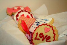 valentine's day cookies, love