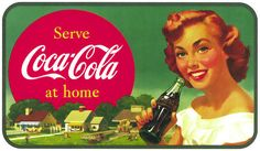 serve coca cola at home