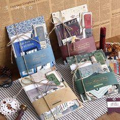 Scrapbook Designs, Diy Scrapbook, Scrapbooking, Lomo Card, Diary Decoration, Paper Plants, Korean Stationery, Retro Flowers, Flower Crafts