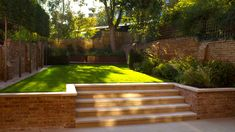 Garden Design Pictures, Back Garden Design, Modern Garden Design, Backyard Garden Design, Small Backyard Landscaping, Backyard Patio, Pool Landscape Design, Landscaping Retaining Walls, Minimalist Garden