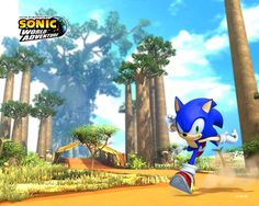 sonic world background - Google Search
