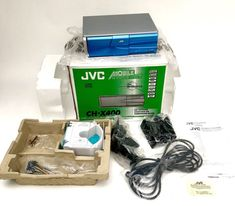 JVC CH-X400 Cd Changer With Extras & Complete Kit New Original Box Car sound Car Sounds, Amp, The Originals, Ebay
