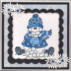 HH#153 Black,Blue by bmbfield - Cards and Paper Crafts at Splitcoaststampers