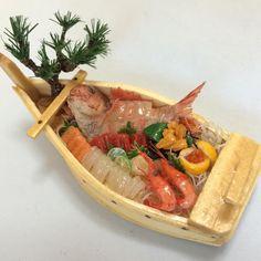 Miniature Sashimi Boat