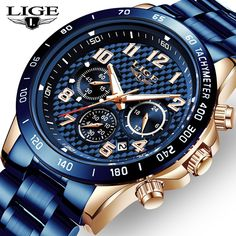 Mens Sport Watches, Watches For Men, Luxury Watches, Rolex Watches, Top Luxury Brands, Luxury Branding, Chronograph, Stuff To Buy, Accessories