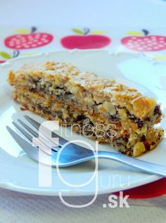 Fit jablkovo-maková štrúdľa Strudel, Ham, Macaroni And Cheese, Easy Meals, Easy Recipes, Clean Eating, Food And Drink, Sweets, Apple