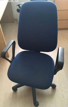 otočná židle na kolečkách s opěrkami na ruce - obrázek číslo 1